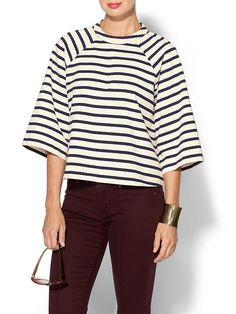 Marc by Marc Jacobs, Jacquelyn Stripe Top