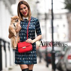 The Edit: Introducing Alex Meyers - L.K.Bennett Brand Ambassador. shop the Joan Bag in Scarlet here http://www.bishopboutique.com/store/pc/viewPrd.asp?idproduct=11089&IdCategory=0 Brand Ambassador, Inspiring Women, Scarlet, Pc