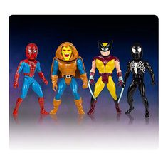 Marvel Secret Wars Micro Bobble Heads Series 1 Set with Hobgoblin, Spider-Man and Wolverine