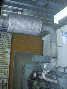 Asbestos Rope To A Back Up Generator Set In An Apartment Block Which Also Had Some