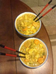 Campfire Curry- easy coconut curry recipe #curry #theoverlandescape #backcountrykitchen