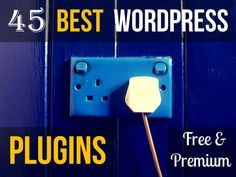 Looking for a plugin to improve your Wordpress website? The following list of 45 of the best Wordpress plugins will help you find the plugin you need.
