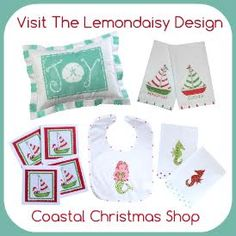 Lemon Daisy Coastal Christmas