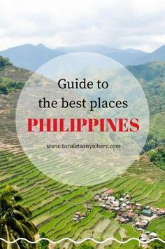 List of the best places to visit in the Philippines | Philippines tourist attractions | Beautiful places in the Philippines. Photo used by Matthew Bailey.