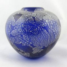 Vase by Isle of Wight Glass