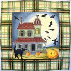 K&B Halloween Tartan Pillow.