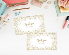 Instant Download Confetti Shower Gift Tags by fineanddandypaperie