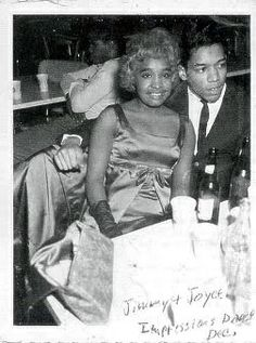 Jimi Hendrix and his Tennesean girlfriend Joyce. He dated her when he was on the Chitlin' Cuircut