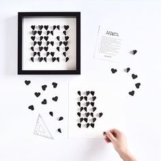 Our hearts are fluttering for these Sarah & Bendrix bespoke framed wedding invitations! Now 20% off with code WEDDINGCHICKS!