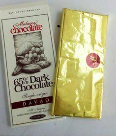 Davao's Malagos - dark chocolate, yum!