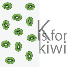 #kiwi #illustration#kitchen #funny #food #fruits Kiwi / by Taki Trik