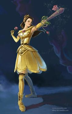 Belle the Keyblade Master Super Hero shirts, Gadgets