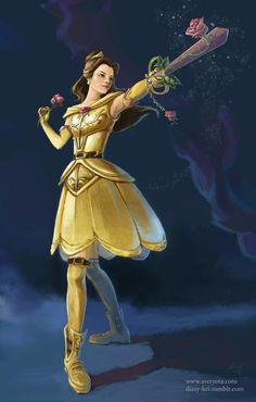 Belle the Keyblade Master