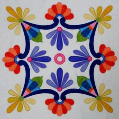 Mexican Fiesta Quilt Pattern | Go to the Products page to purchase this design.