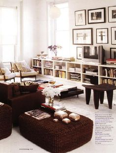 This is an option if we ever put in a south facing window in the front room and need to get rid of bookcases.