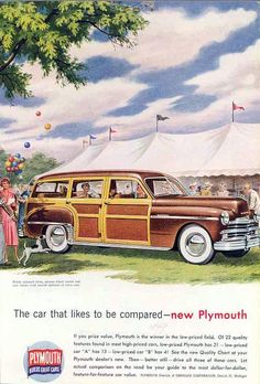 1949 Plymouth Woodie Wagon