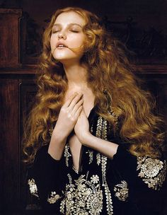It was high summer, but where was her wolf? It'd been weeks since she'd seen him last, and Carys worried.  Queen of the Renaissance: Vlada Roslyakova by Pierluigi Maco
