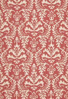 More ikat fabric to love. Schumacher Tiraz Cotton. Through Bilbrough & Co.