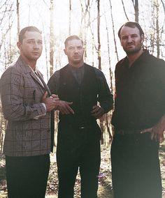 Them Bondurant brothers Played by: Shia LaBeouf, Tom Hardy & Jason Clarke in Lawless