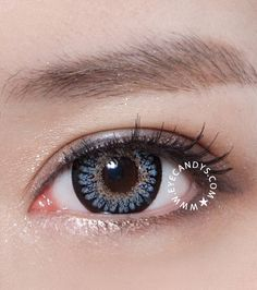 Love these GEO Princess Mimi Bambi Sesame Gray circle contacts from www.eyecandys.com! #circlelens #cute #ulzzang #prettyeyes