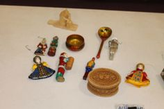Display of Russian items