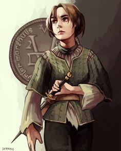 Arya Stark, Valar Morghulis