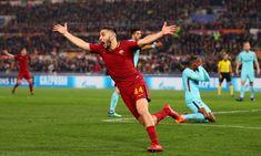 Kostas Manolas seals historic Roma comeback to send Barcelona out