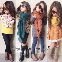 Favs of the week Lve - Baby-Girl - Kids Outfit Girls Fall Outfits, Outfits Niños, Little Girl Outfits, Cute Outfits For Kids, Little Girl Fashion, Stylish Kids Fashion, Tween Fashion, Toddler Fashion, Cute Fashion