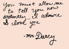 mr. darcy Click the pin for more!