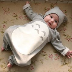 Totoro Baby Romper + Hat Set - One Cool Gift  - 2