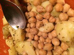 Salade de pois-chiches et pommes de terre