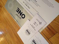 Invitation design via Miaso Design