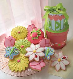 Great spring cookies.