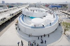 Denmark Pavilion, Shanghai Expo 2010  / BIG #bikes #architecture