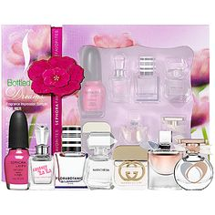 Mother's Day Gift Ideas: Sephora Favorites Bottled Dreams Fragrance Impression Sampler For Her #sephora #mothersday