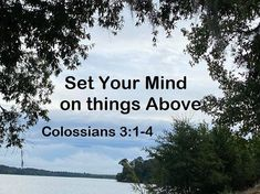 GOD Morning from, Trinity TX Today is Wednesday 9-29-2021 Day 272 in the 2021 Journey Make It A Great Day, Everyday! Set Your Mind on things Above Today's Scripture: Colossians 3:1-4 (NKJV) If then you were raised with Christ, seek those things which are above, where Christ is, sitting at the right hand of God. Set your mind on things above, not on things on the earth.... Scripture For Today, Today's Scripture, Colossians 3, Psalms, Psalm 118, Christ, Jan 1, Mindfulness, God