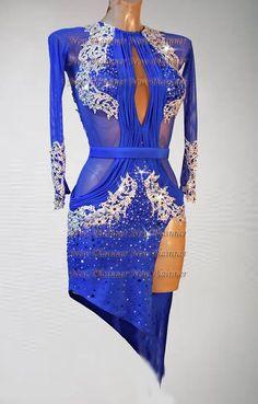 L3915 ballroom lady salsa latin samba rumba chacha dance dress US 4   Clothing, Shoes & Accessories, Dancewear, Adult Dancewear   eBay!