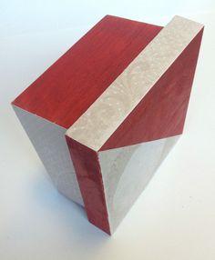 Pack cajas de madera 2/4 decorada #pintura #lumiere #papel #scrapbook #jacquard #crafts #manualidades