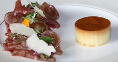 Parma ham & Parmesan creme caramel- Taj Rambagh Palace