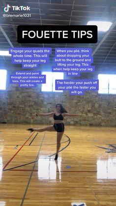 Ballerina Workout, Dancer Workout, Dance Workout Videos, Ballet Dance Videos, Dance Choreography Videos, Gymnastics Skills, Gymnastics Workout, Fouette Turns, Contemporary Dance Moves