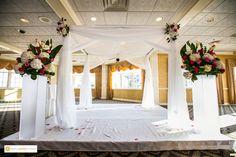 Jewish Wedding   Indoor Ceremony   Springfield Country Club