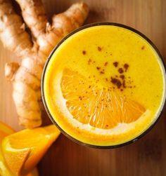 3 ricette di smoothie che esaltano i benefici della curcuma - Ambiente Bio