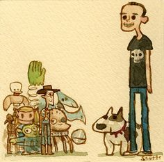 Toy Story by Scott Campbell
