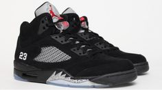 Air Jordan 5 - Black (I don't wear sneaker type shoes unless I have to - but I think I need these)