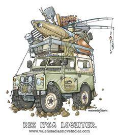 Defender 110, Defender Camper, Land Rover Defender, Kombi Motorhome, Sketch Icon, Land Rover Series 3, Racing Quotes, Offroader, Garage Art