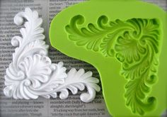 Baroque silicone mould handmade vintage look mold by SillisShop