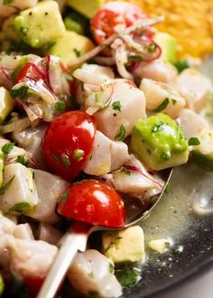 Ceviche Fish Recipes, Seafood Recipes, Mexican Food Recipes, Ethnic Recipes, Mexican Dinners, Keto Recipes, Fish Dishes, Seafood Dishes, South American Dishes