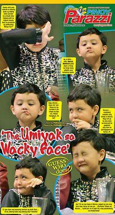 'The Umiyak sa Wacky Face' http://www.pinoyparazzi.com/the-umiyak-sa-wacky-face/