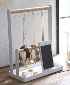 Another great find on #zulily! Double Post Accessory Hanger #zulilyfinds