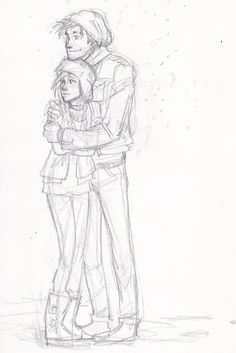 I think this is Blaire and Prosper. Burdges or her sister's charterers. Art by Burdge bug. Couple Sketch, Cute Couple Drawings, Love Drawings, Couple Art, Art Drawings, Hipster Drawings, Girl Sketch, Inspiration Drawing, Character Inspiration